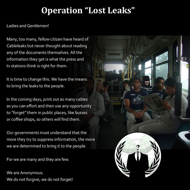 "Operation ""Lost Leacks"""