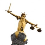 Justitia auf dem Strafgerichtshof Old Bailey in London - cc-by Squadnleedah